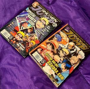Vintage 2000s Shonen Jump Manga book bundle!